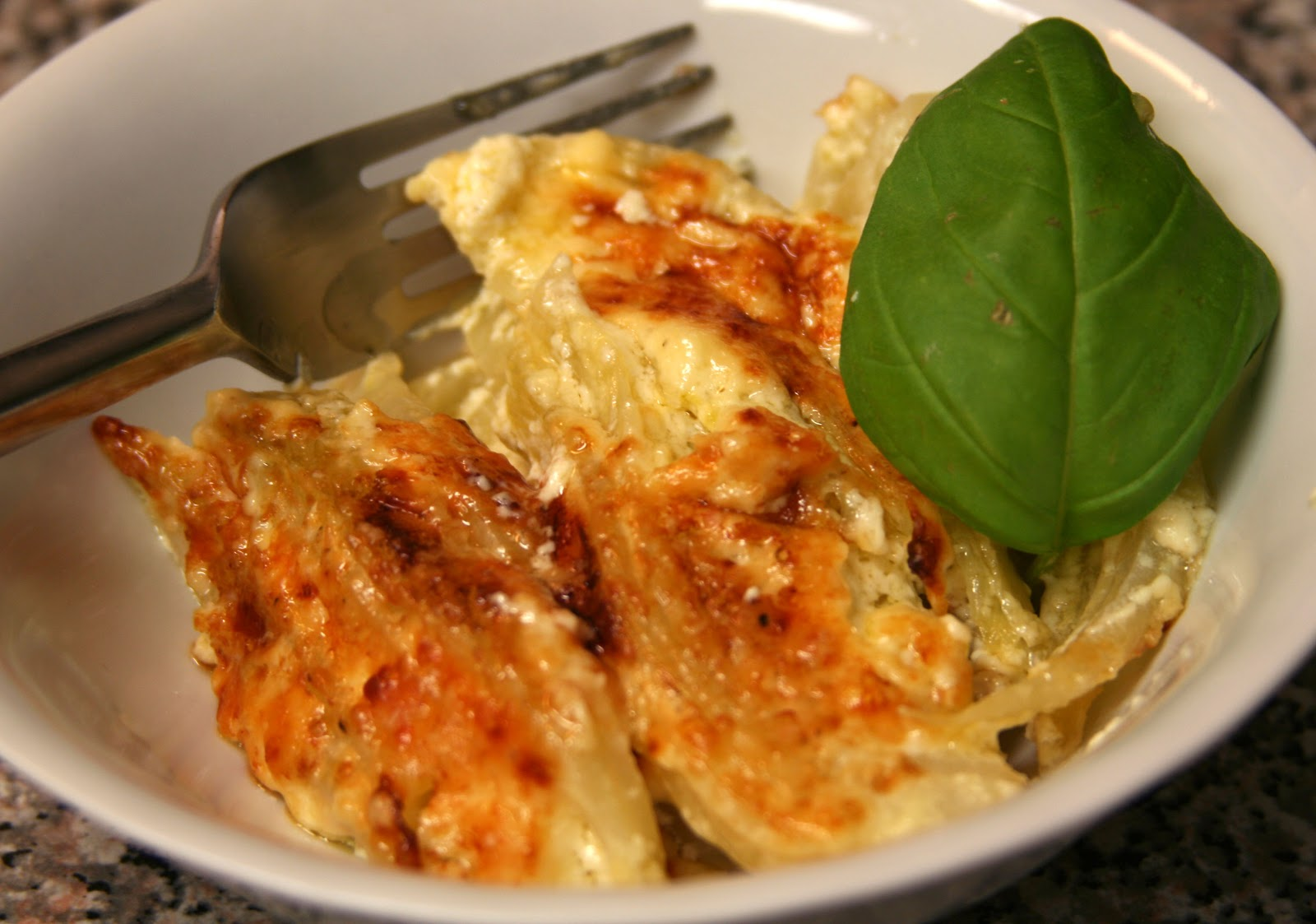 ... Confused: Saveur: The New Comfort Food: Fennel Baked in Cream