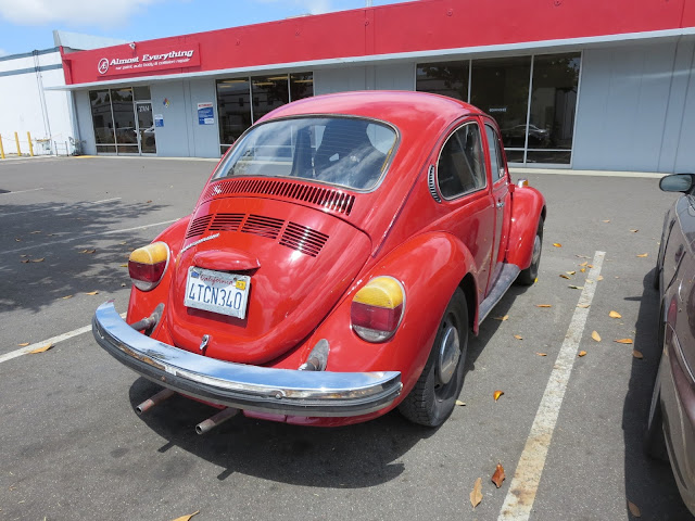 1974 Volkswagen Beetle with new overall paint job from Almost-Everything Auto Body