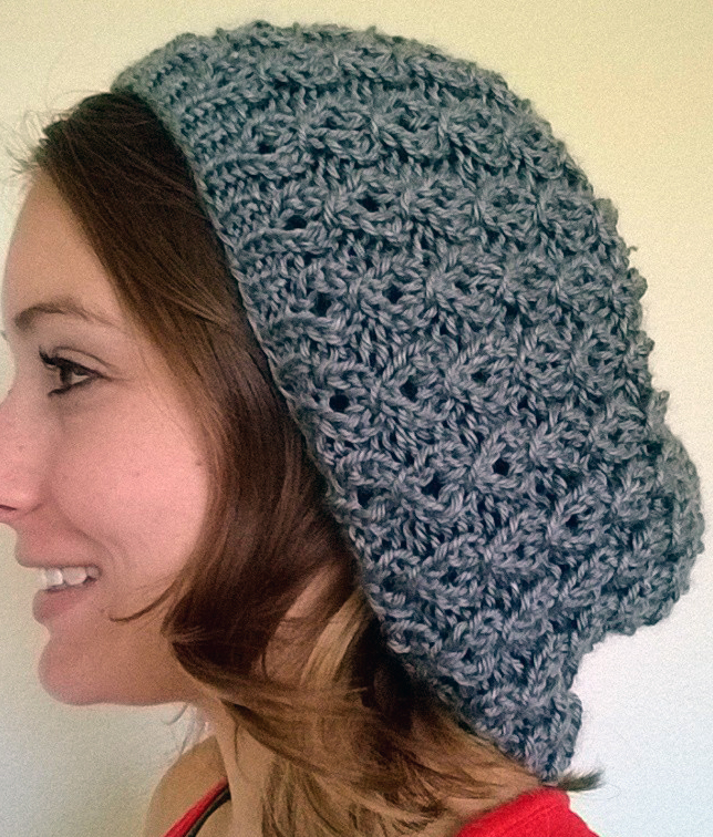 Saramariecreations Oversized Slouchy Beanie Knitting Pattern Free