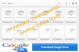 Perangkat Pembelajaran Sekolah Dasar ( SD ) / Madrasah Ibtidaiyah ( MI ) Bahasa Sunda kelas 1 sampai kelas 6