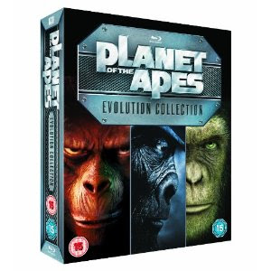 Planet der Affen: Evolution Box auf Blu-ray bei Amazon.co.uk für 25,97 Pfund
