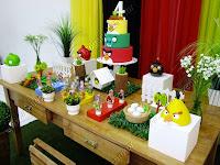 Decoração Angry Birds Porto Alegre provençal rústico