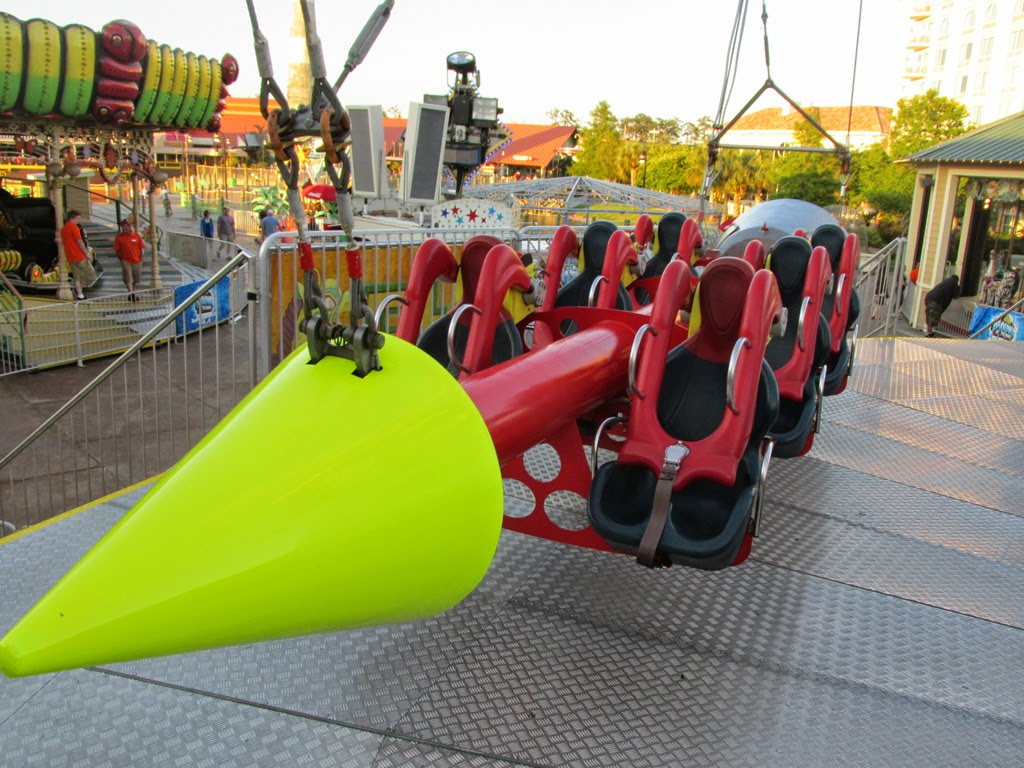 Myrtle Beach After Handing Over My 10 And Insuring We Would Be Riding A Looping Car Were Seated In One Of The Five Rockets