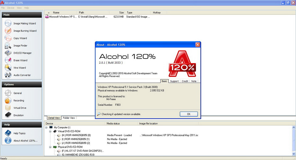 Alcohol 120% 2.0.0.1331 Full Version Free Download latest:Software: PC Games, Operating Systems ...