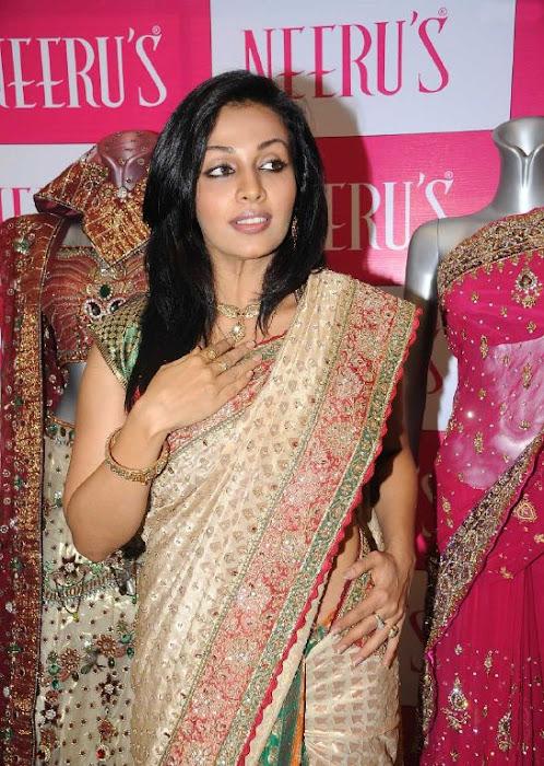 asha saini aka mayuri in silk saree