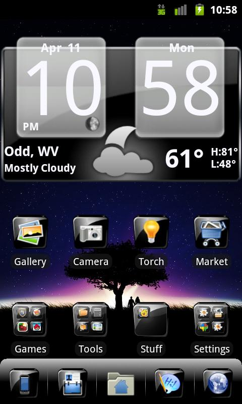 GO Launcher - 3D parallax Themes & HD Wallpapers for