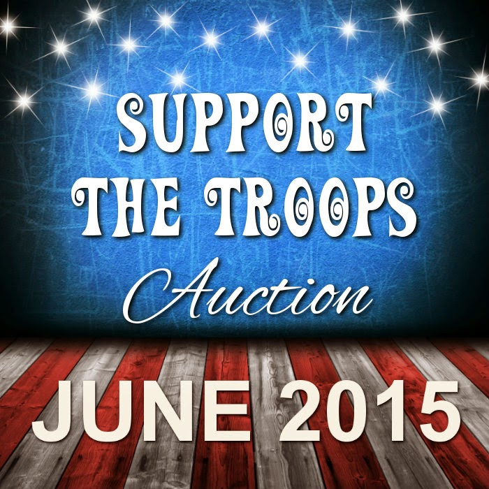 Bid On Items To Support The USO ~ Including Items From Laughing Vixen Lounge ~ June 19th - 29th
