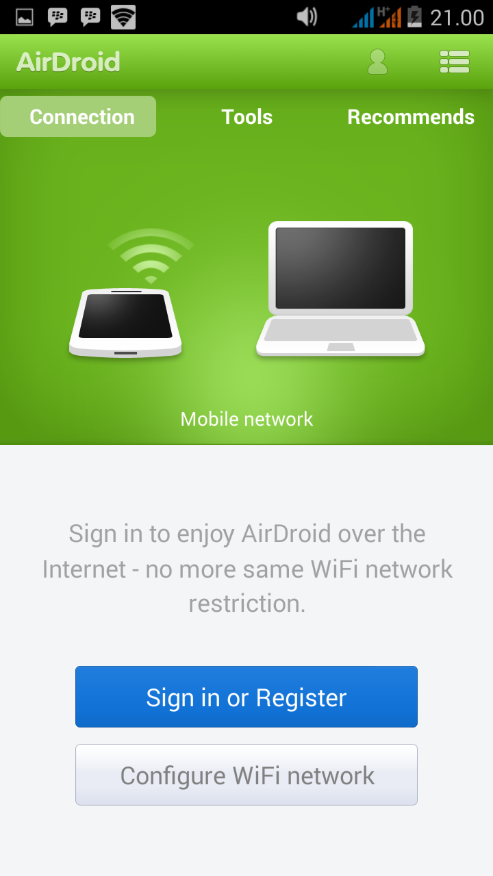 Cara Transfer File Android ke Pc Lewat Wifi (Airdroid