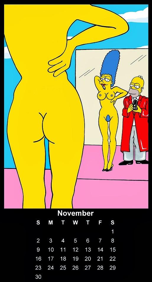 Homer And Marge Simpson Helmut Newton Erotic Iconic Shots Celebrate