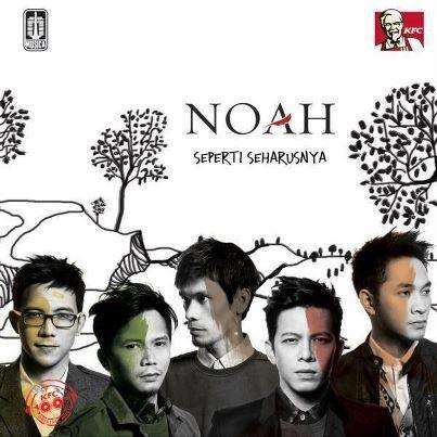 Lirik Lagu Noah - Tak Lagi Sama Lyrics