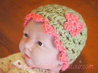 Forest Princess premmie hat