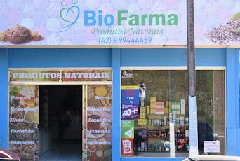 BioFarma Produtos Naturais - Av. 12 de Maio em frente a igreja matriz em Turvo