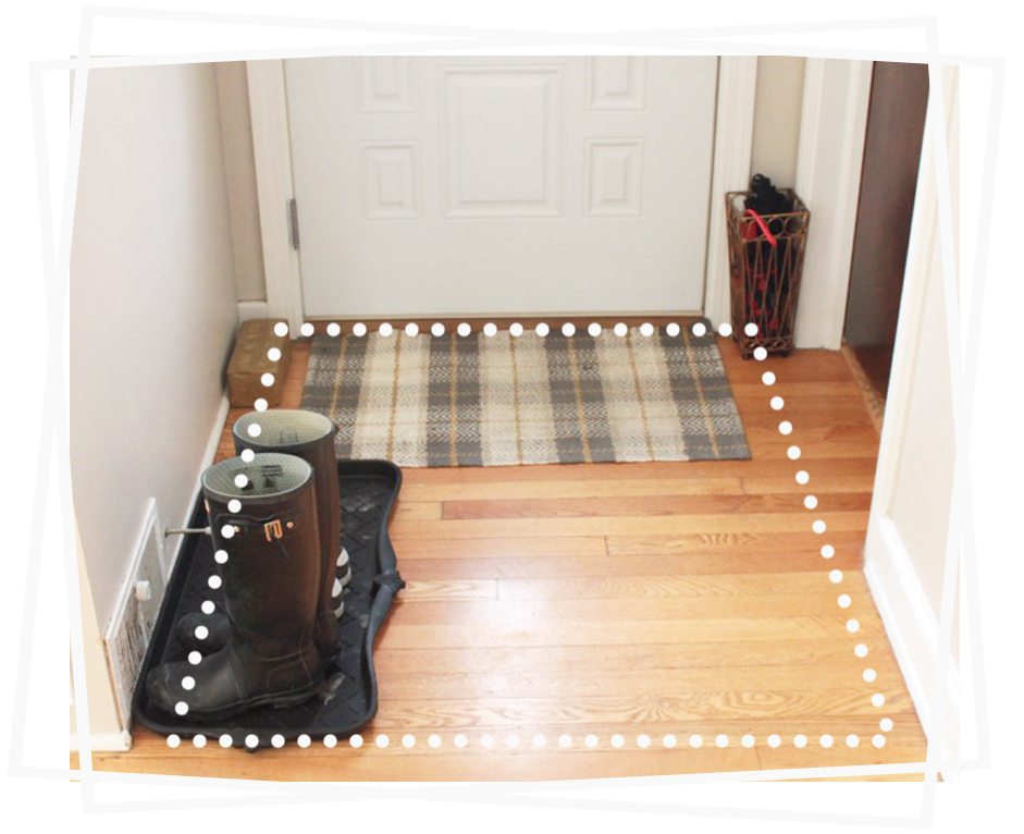 Square Foyer Rug : Entry rugs for hardwood floors home decor