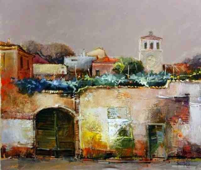 Итальянский художник. Romano Bertelli