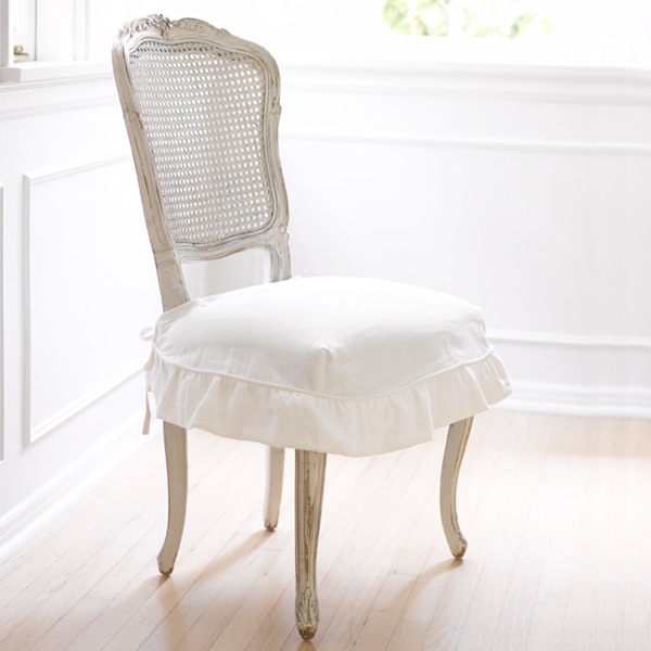 Shabby chic chair covers - Shabby chic dining room chair covers ...