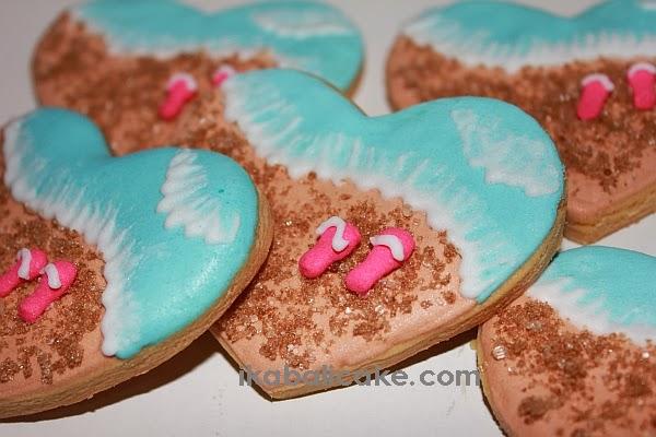 Bali customized individual Cookies Beach Theme