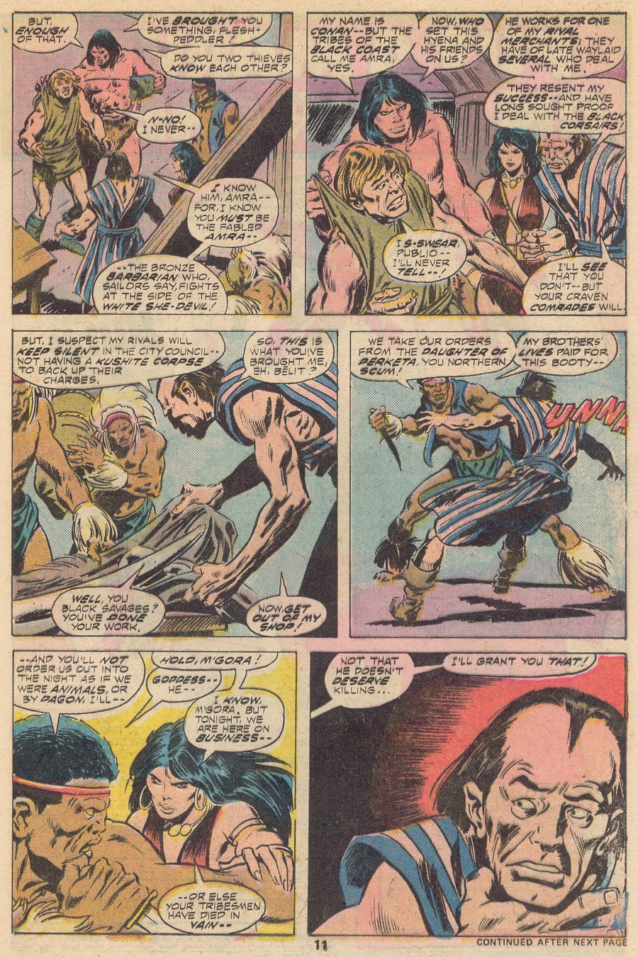 Conan the Barbarian (1970) Issue #66 #78 - English 8