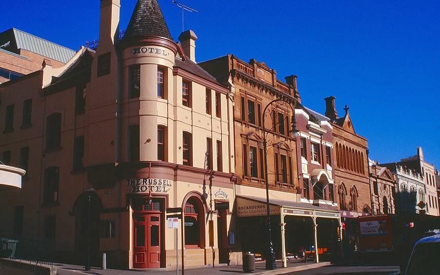 Hotel Russell di Australia