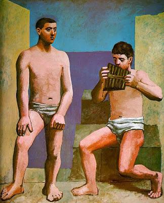 La flauta de Pan de Picasso