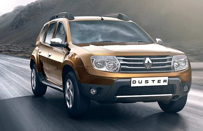 renault duster as low suv in indonesia black and silver. Black Bedroom Furniture Sets. Home Design Ideas