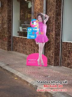 standee mô hình, standee mô hình 3d