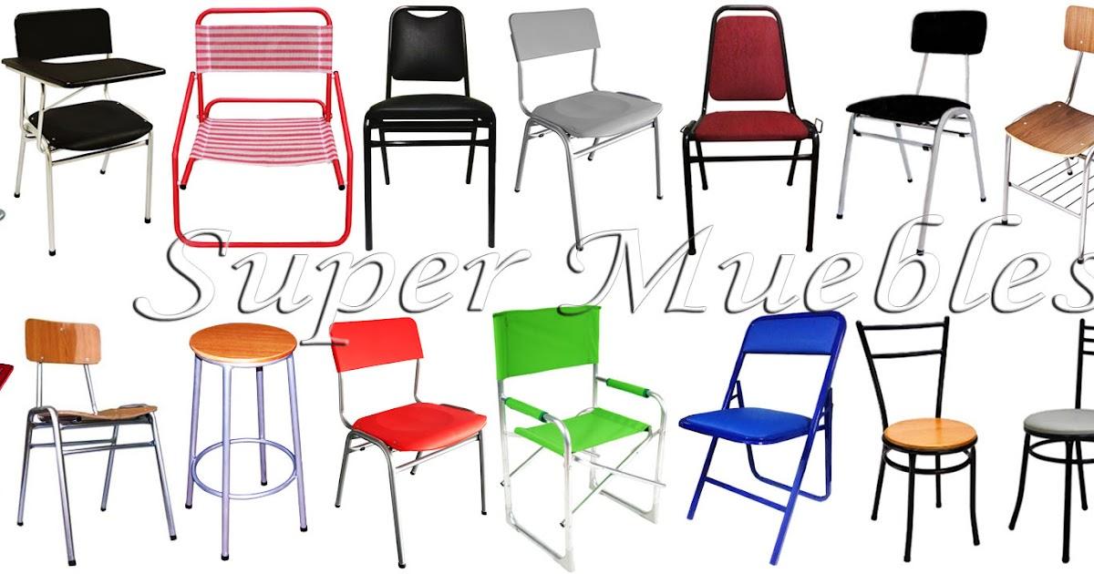 Super Muebles Sillas Apilables Variedad De Modelos