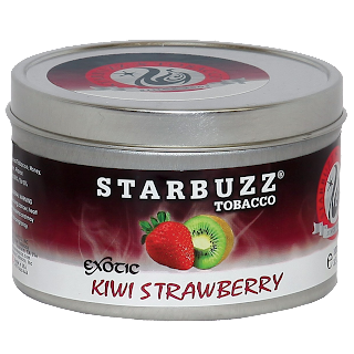 STARBUZZ EXOTIC KIWI STRAWBERRY HOOKAH SHISHA TOBACCO