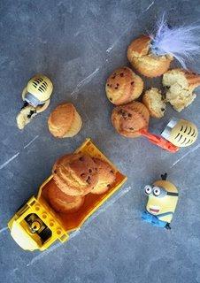 camion con muffin e Minions