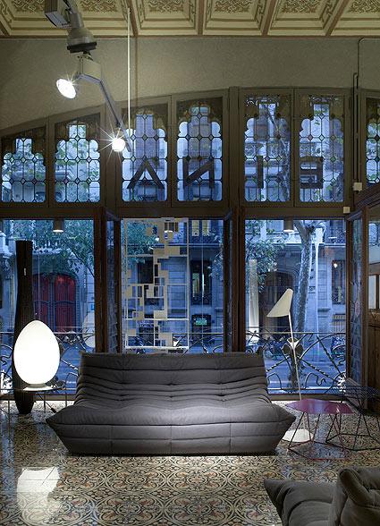 Interiores modernistas for Muebles modernistas