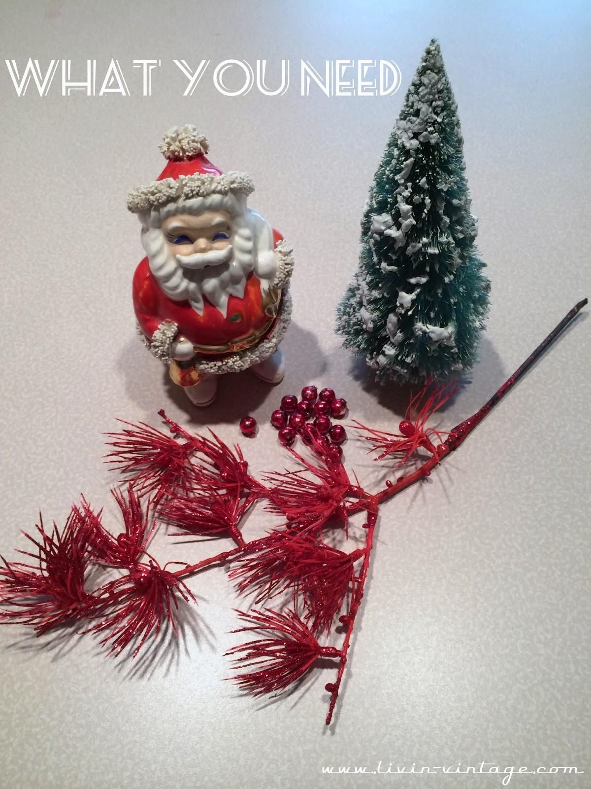 Livin Vintage Christmas Craft Week