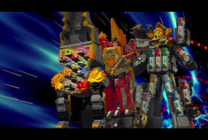 ToQ Rainbow and Gigant Kyoryuzin mix things up