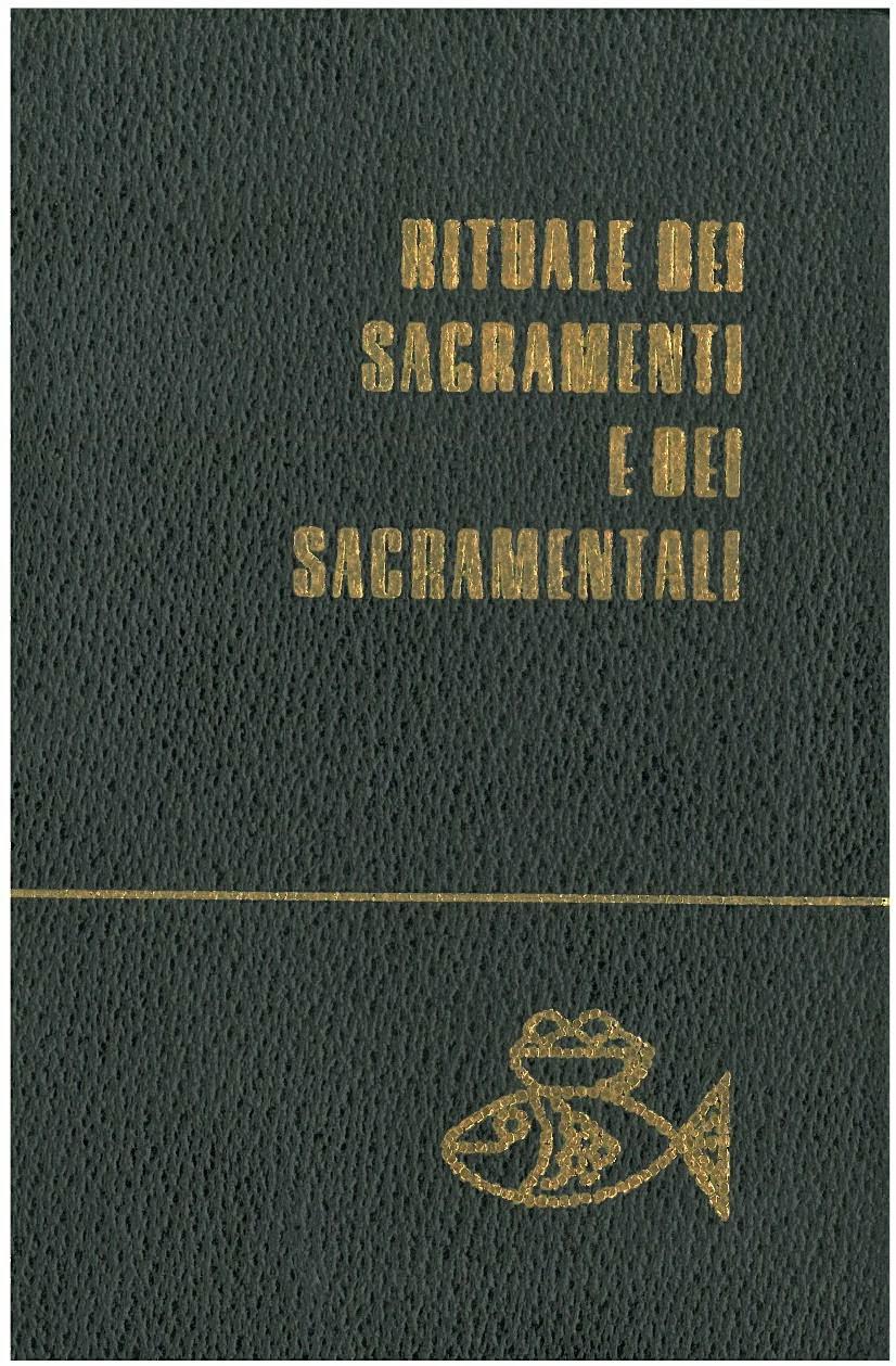 Matrimonio Rituale Romano : Le pagine di don camillo rituale dei sacramenti e