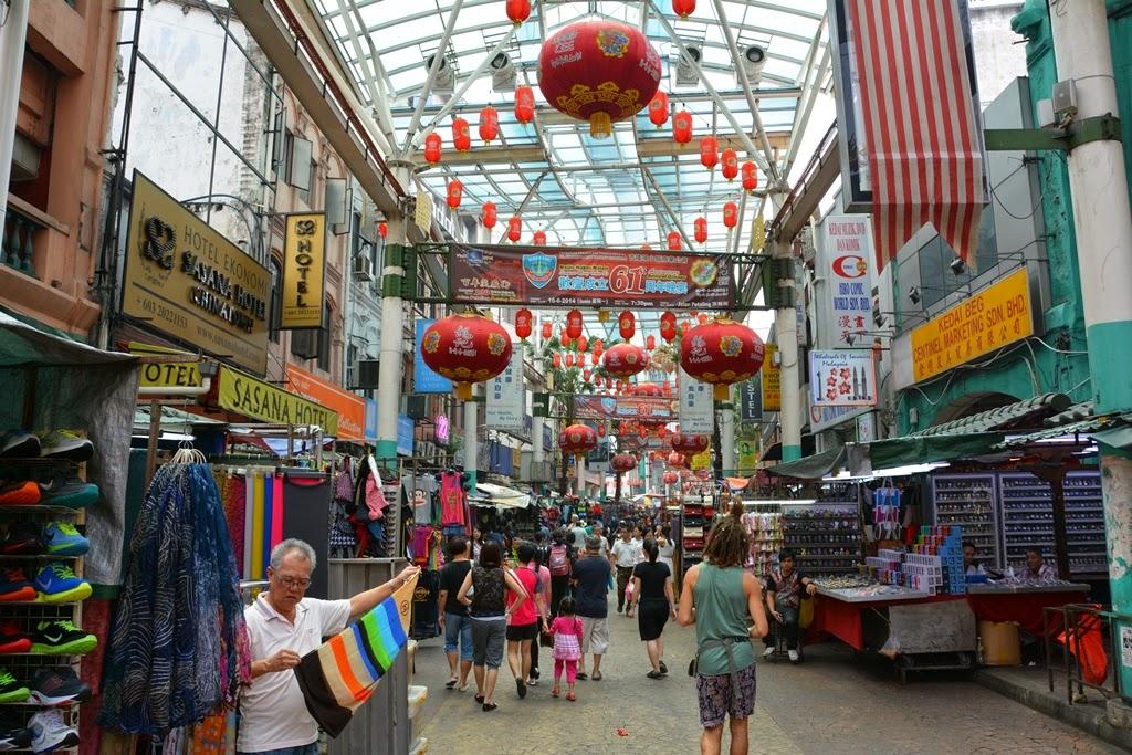 Chinatown Kuala Lumpur shopping