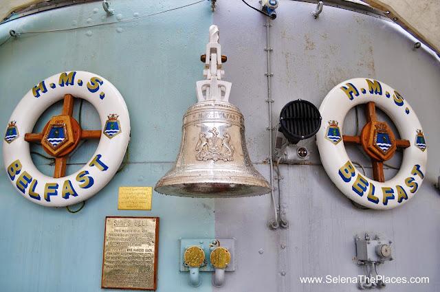 HMS Belfast Bell London