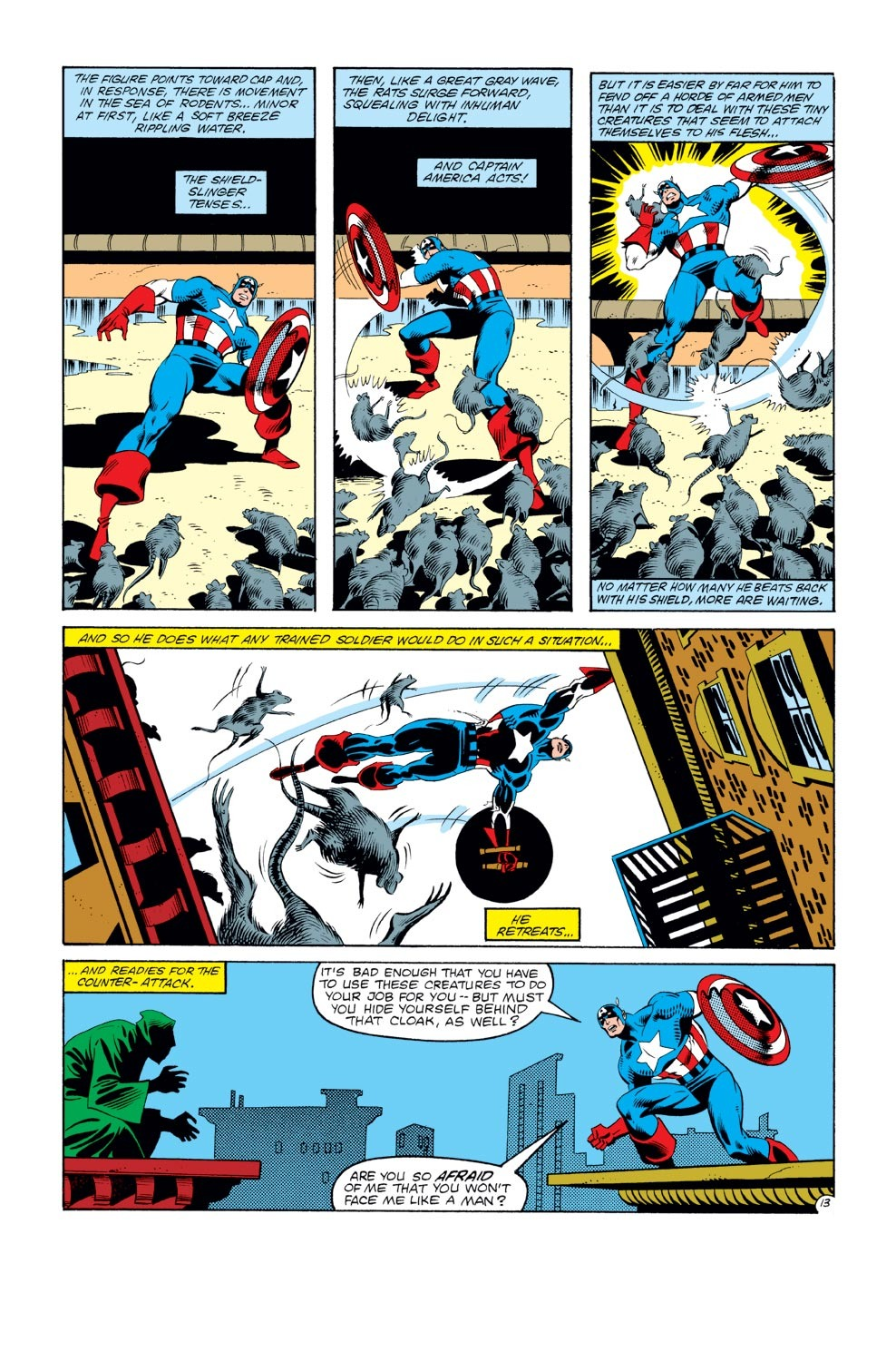 Captain America (1968) Issue #272 #188 - English 14