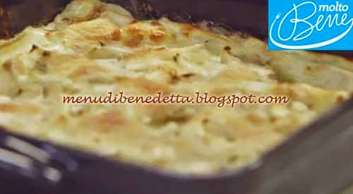 Lasagne con bufala e indivia ricetta Parodi per Molto Bene su Real Time