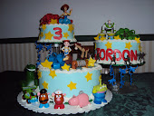 Jordan's Third Birthday cake