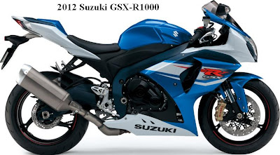 2012 Suzuki GSX-R1000 - Blue White Color