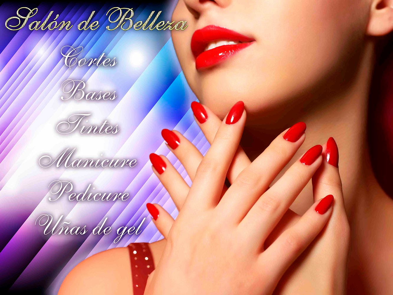 Fotomontaje para salon de belleza - Recursos para ...