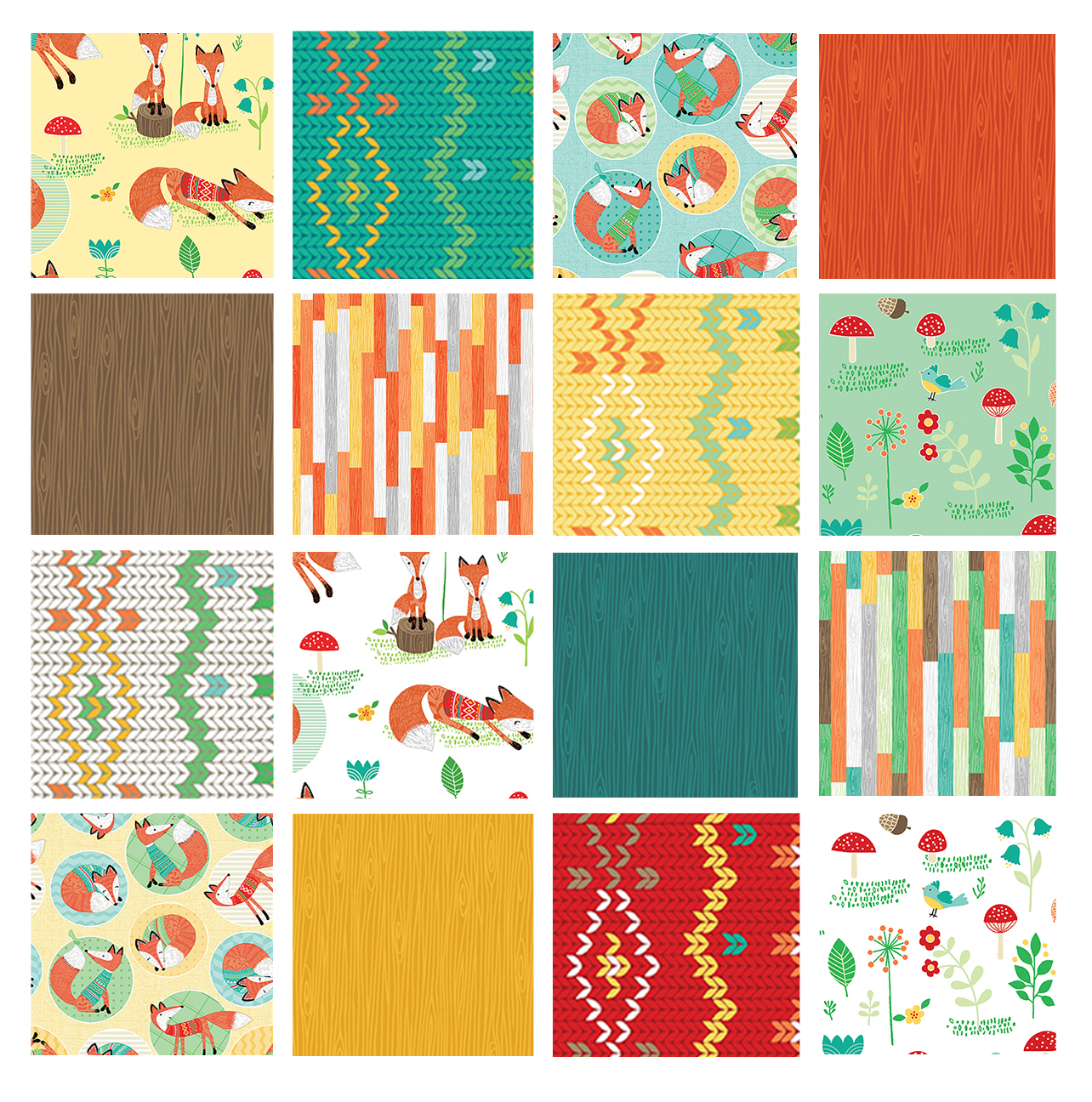 Cockerels Are Scattered All Over This Fabric Made From: Sew In Love {with Fabric}: Fox Fun