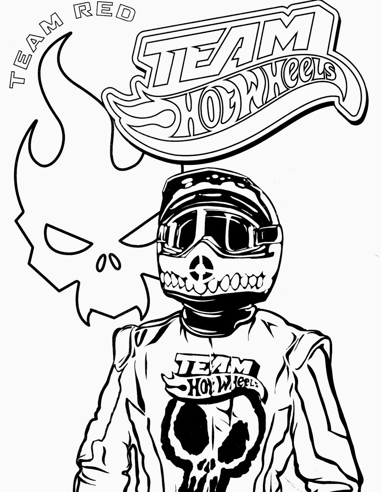 Hot Wheels Coloring Pages 63
