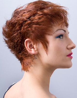 ... axilla and pubic region of some terminal women short hairstyles also