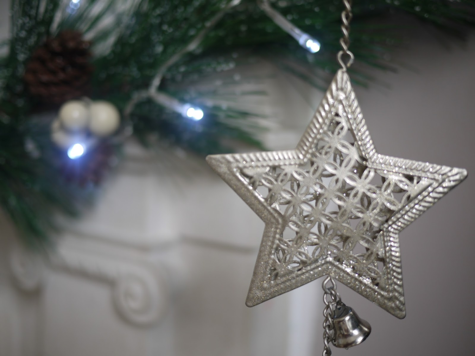 Christmas decorations from Dunelm Mill