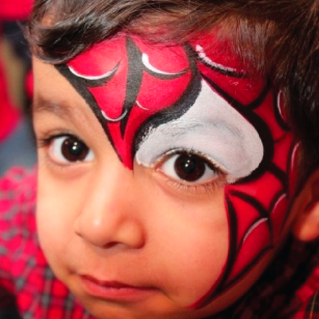 Los 5 mejores y más sencillos modelos de maquillaje de fantasía para niños