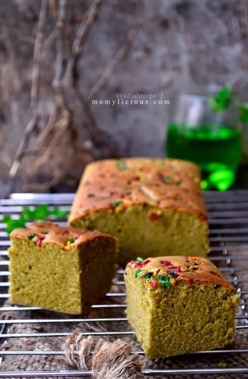Cake Bayam