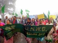 GNLF rally in Darjeeling demanding Sixth Schedule status