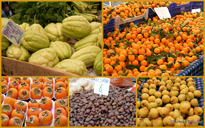 Winter Seasonal Food At Fethiye Market