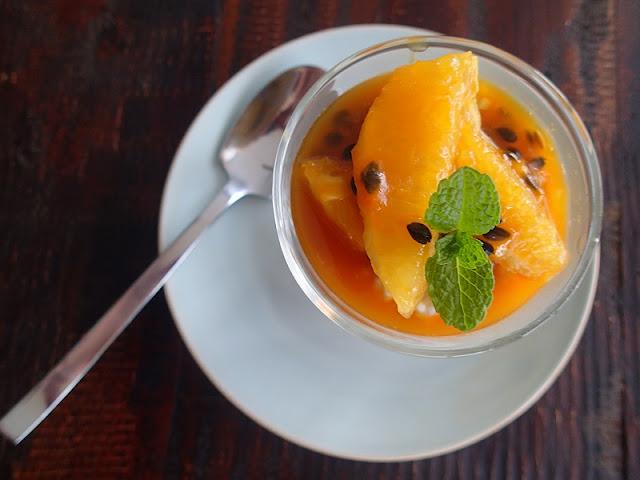 P6090021 - Passionfruit, Orange and Coconut Sago Pudding