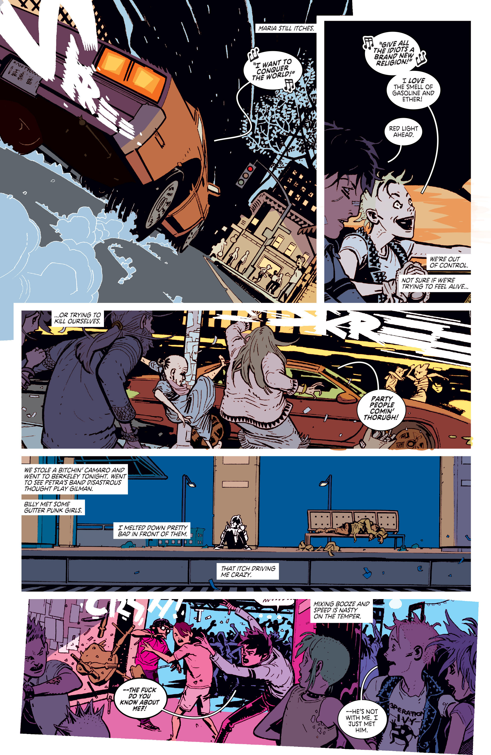 Read online Deadly Class comic -  Issue # _TPB 3 - 53