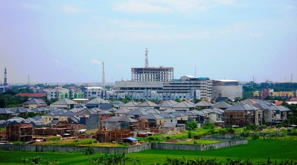 Kota Cirebon Skyline jl. Dr. Ciptomangunkusumo 2011